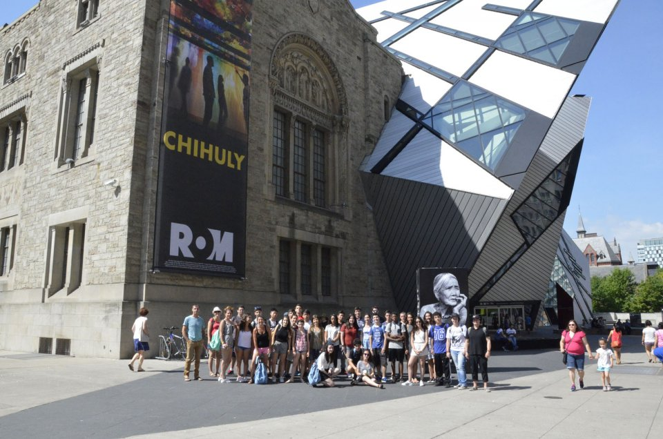 ROM visit - Royal Ontario Museum - July 2016